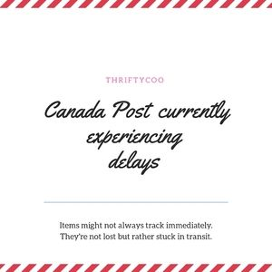 Canada Post is experiencing shipping delays